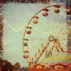 ive never been on a ferris wheel, but one day hopefully ill go (:
