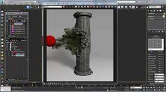 3ds Max - Creating Dust and Fine Debris using Phoenix FD Tutorial