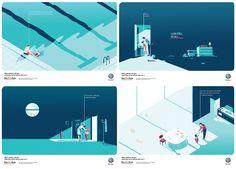 https://www.behance.net/gallery/26394873/Volkswagen-illustrated-campaign