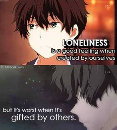 I'm sorry I wasn't gifted. And that I chose to be lonely. But was still our choice in the first place, it wasn't gifted.