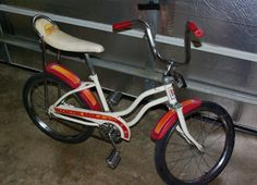 These are the kind of sweet rides that you pushed backwards on the pedals to lock up the back wheel, turn the handlebar, and skid that bad mother around