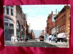 Antique Postcard Mainstreet Johnstown PA
