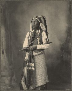 Frank A. Rinehart, Little Chief (Arapahoe Nation); Omaha, Nebraska, 1898.
