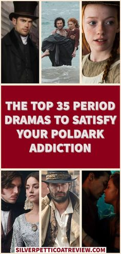 We've compiled a list of great period dramas to watch if you like Poldark! #PeriodDramas #HistoricalDrama #RomanticPeriodDramas #List #PeriodDramasToWatch #Poldark #AidanTurner #AnnewithanE #perioddramasonnetflix #Victoria #primevideo #beechamhouse #pbsmasterpiece #cursed #sanditon Best Period Movies, Best Period Dramas, Period Drama Movies, Romantic Movies On Netflix, Netflix Movies To Watch, Netflix Dramas, Tv Series On Netflix, Byronic Hero, Tv Series To Watch