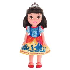 Bring home our Disney Princess Toddler Doll - Snow White. Shes your favorite Disney Princess as an adorable little toddler!<br><br>Each Princess doll is . Disney Princess Toddler Dolls, First Disney Princess, Disney Princess Snow White, Disney Dolls, Princess Party, Disney Babys, Baby Disney, Snow White Doll, Disney Merchandise