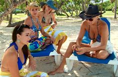 The Real Housewives of Beverly Hills at Palomino Island at El Conquistador Resort & Las Casitas Village. Puerto Rico. ElConResort.com
