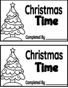 FREEBIE!! Christmas Booklet! Preschool Curriculum, Preschool Classroom, In Kindergarten, Preschool Activities, Homeschooling, School Holidays, School Fun, Preschool Christmas, Christmas Writing