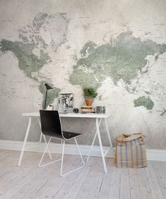 Rebel Walls digital wallpaper collection – MAPS / SIENA