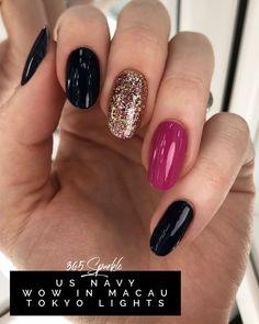 Semi-permanent varnish, false nails, patches: which manicure to choose? - My Nails Shellac Nails, Nail Polish, Acrylic Nails, Cute Nails, Pretty Nails, Maila, Nail Time, Color Street Nails, Powder Nails