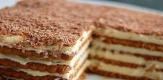 This no cook dessert is a favourite of mine. The biscuits used are 'Morning coffee' or 'Marie biscuits'. You can also use the LU Cookies or Rich Tea Biscuits that can be bought… Rich Tea Biscuits, British Biscuits, Desserts With Biscuits, No Cook Desserts, Homemade Cake Recipes, Cookie Recipes, Dessert Recipes, Food Cakes, Marie Biscuit Cake