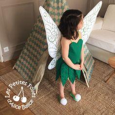 Alice Balice DIY - Robe et ailes Fée Clochette