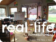His Mercy is New: Real Life Homeschooling {a series}