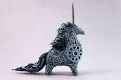 Cyberpunk unicorn by hontor