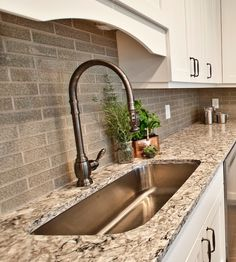 Waterstone Traditional Pull Down Faucet In Antique Pewter