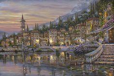 """Varenna 'Mio Amor' ~ Lake Como, Italy"" ~ by Robert Finale"