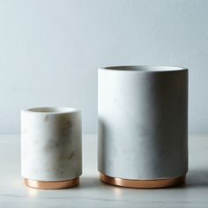 Marble & Copper Canister on Food52