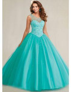 Aliexpress.com: Comprar Quinceanera 15 años vestidos de 15 años 2015 azul del dulce 16 vestidos de la muchacha cristalina del partido de la mascarada debut vestidos de bola YK_065 de vestido vestido de fiesta fiable proveedores en honestseller-ms lu
