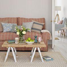 Vicky's Home: 10 ideas de decoración con rayas / 10 ideas for decorating with stripes