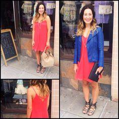 Bright, summer dress!