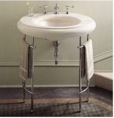 Kohler K-6860 Metal Table Legs - bathroom vanities and sink consoles - Faucet Direct