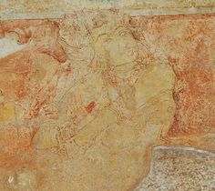 Sittanavasal Paintings in Pudukkottai | Chettinad Paintings Ajanta Caves, Ajanta Ellora, India Facts, Stone Age, Silk Road, Indian Paintings, Present Day, Ancient Art, Indian Art