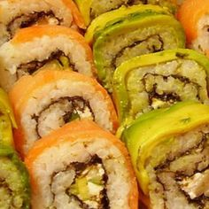 Sushi!! Miss having sushi at lunch with my good friend, miss our good conversations we use to have too!!