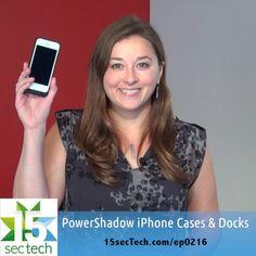Need more #iphone juice? Try @spyderstyle's PowerShadow #cases & #docks - @larakillian on #15secTech