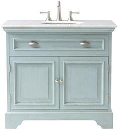 Sadie Single Vanity - Bath Vanities - Bath Vanity - Bathroom Vanity Cabinets | HomeDecorators.com