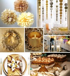 new year's dinner table decorations | Smores! Dressy smores! I cannot wait to make these tomorrow! Dress up ...