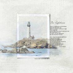 Lighthouse - Digital Scrapbooking Ideas - DesignerDigitals