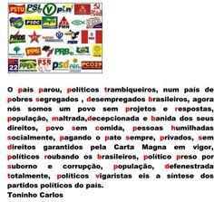 COMUNICANDO: POLÍTICA PODRE DO BRASIL