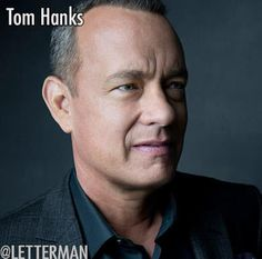 Late Show with David Letterman  It's funny guy Tom Hanks  tonight on an all-new Dave.
