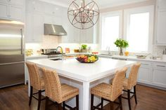 Dining room in the kitchen