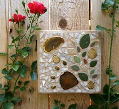 Mezzo Luna Mosaics - Custom Mosaics, Mosaic Mirrors, Plaques, Candleholders, and Table & Bar Tops