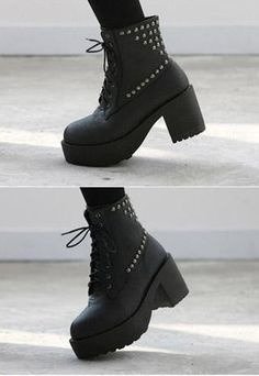 I'm kind of in love with these platform booties, it's getting worse and worse...