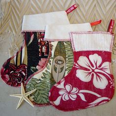 Cool, Unique & Personalized Christmas Stocking Patterns & Designs 2012