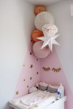 Do It Yourself baby room as well as baby room decorating! Ideas for you to develop a little heaven on earth for your little bundle. Lots of baby room decor suggestions! The post 43 Best Baby Room Decorating Game Ideas appeared first on Children's Room. Baby Room Diy, Baby Bedroom, Baby Room Decor, Nursery Room, Girls Bedroom, Bedroom Decor, Bedroom Ideas, Diy Baby, Trendy Bedroom