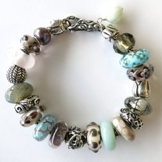 """""""Everyday Beautiful"""" Trollbeads Bracelet by RC, photographed at Tartooful"""