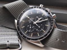 Moonwatch calibre 1861 on NATO strap is cool