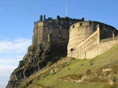 Edinburgh Castle, built on an extinct volcano, was a main royal residences until Scotland's union with England. Photo: Stephen Finn