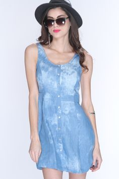 If you havent done your research on this years hottest trends, let us catch you up with this stylish sexy party dress. You will have everyone stunned when they see you entering the room in this. This dress features scoop neck, sleeveless style, banded waist, cutout back, and finished off with snap button up closure. 100% Polyester