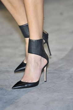 Hakaan at Paris Fashion Week Fall 2011 Hakaan Fall 2011 - Details Stilettos, Pumps Heels, Shoes Sandals, High Heels, Work Heels, Crazy Shoes, Me Too Shoes, Fancy Shoes, Heeled Boots