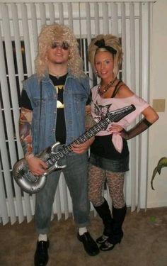 80's Rockstars Disco Halloween Costume, 80s Party Costumes, 80s Costume, Rocker Costume, 80s Theme Party Outfits, Themed Outfits, 80s Fashion Party, Fashion Goth, 80s Dress