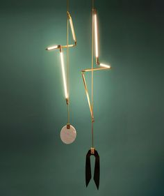 Sculptural Geometric Lighting by Bec Brittain | http://www.yellowtrace.com.au/bec-brittain-lighting/