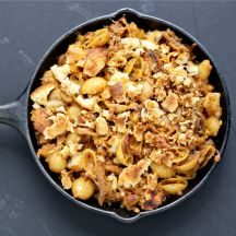 Mac and Cheese - Creamy Four Cheese Mac with Bacon Recipe