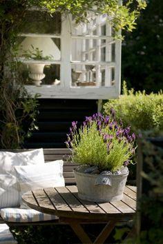 Hygge på terrassen