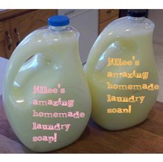 Homemade Laundry Soap Revisited (Similar to the laundry sauce recipe)