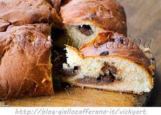 Pagnotta pasquale romagnola al cioccolato ricetta vickyart arte in cucina