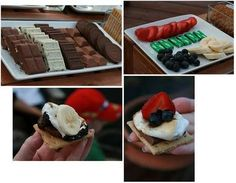 S'mores bar -a different version
