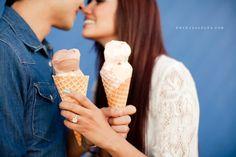 Ice cream and the ring! Engagement Props, Funny Engagement Photos, Engagement Outfits, Couple Photography, Engagement Photography, Wedding Photography, Santa Monica, Samantha Wedding, Engagement Photo Inspiration